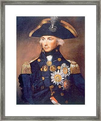 Admiral Horatio Nelson 1758-1805 Framed Print by Everett