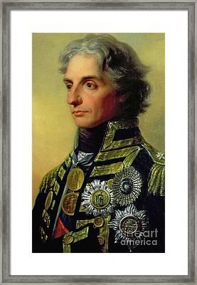 Admiral Horatio Nelson Framed Print