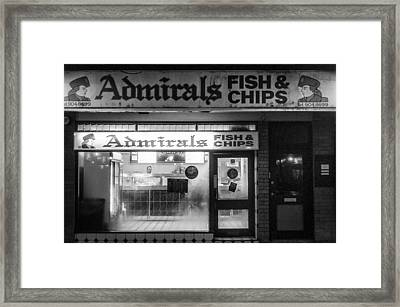 Admirals Fish And Chips Framed Print