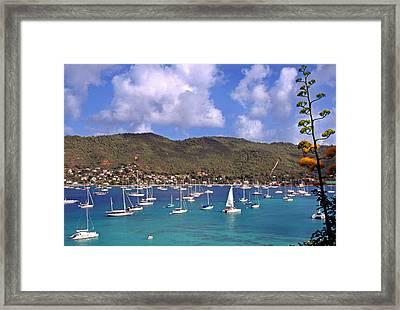 Admiralty Bay Framed Print