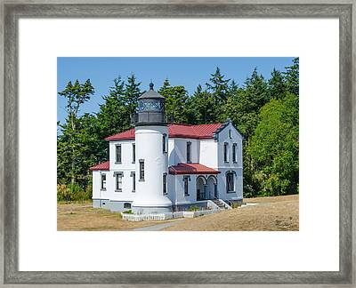Admiralty Head Lighthouse  Framed Print
