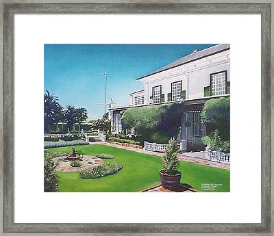 Admiralty House Framed Print