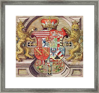 Admiranta Narratio Framed Print by Theodore de Bry
