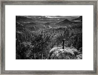 Needles Point South Dakota Framed Print