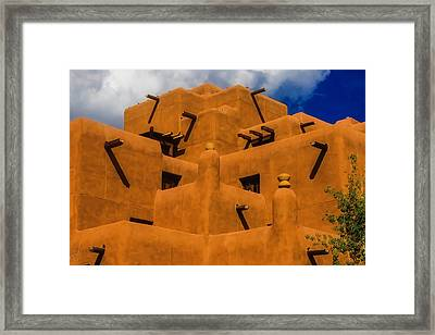 Adobe Architecture Framed Print
