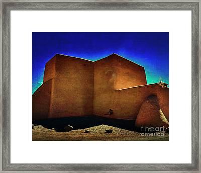 Adobe Church II Framed Print