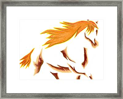 Adobe Dance Framed Print