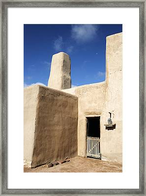 Adobe Framed Print by Eric Foltz