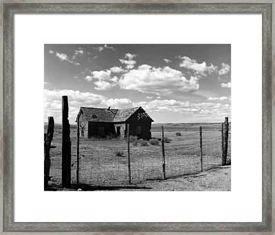 Adobe Homestead Framed Print