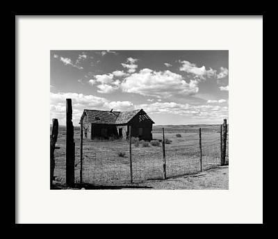 Old West Photographs Framed Prints