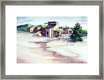 Adobe Pueblo Framed Print