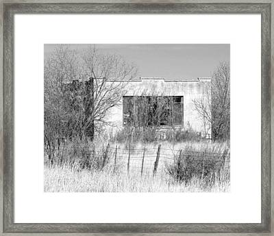 Adobe Framed Print by Slade Roberts