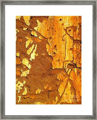 Adobe Wall 2 By Darian Day Framed Print by Mexicolors Art Photography