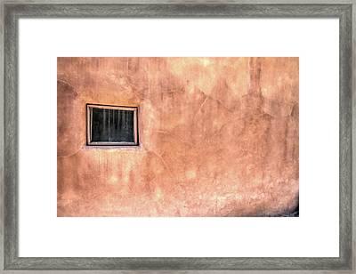 Adobe Wall Framed Print by Nadine Berg