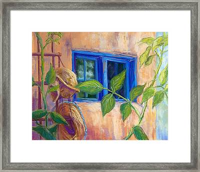 Adobe Windows Framed Print by Candy Mayer