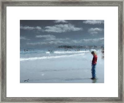 Adolescence Framed Print by Eddie Durrett