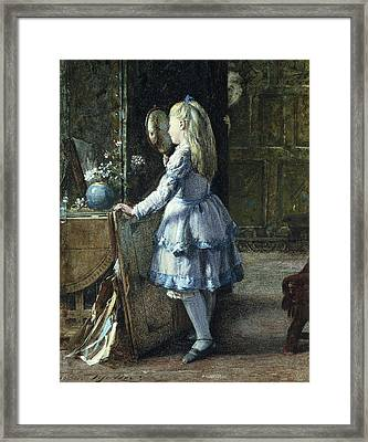 Adolescence Framed Print by William Jabez Muckley