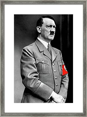 Adolf Hitler The Visionary Circa 1941 Color Added 2016 Framed Print