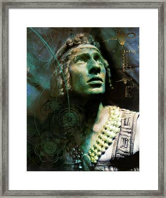 Adolph Bolm Colorized Framed Print by Robert G Kernodle