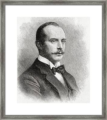 Adolphus Cambridge, 1st Marquess Of Framed Print by Vintage Design Pics