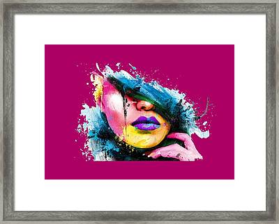 Adonis T-shirt Framed Print by Herb Strobino