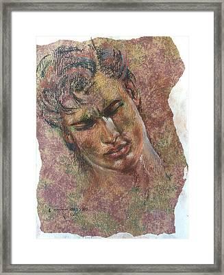 Adonis Framed Print by Vicki Ross