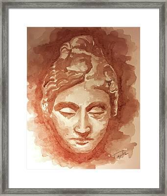 Adorant II Framed Print by Laura Taylor
