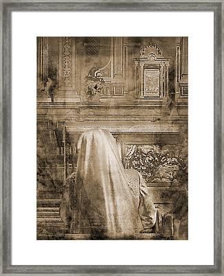 Adoration Chapel 2 Framed Print