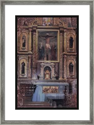 Adoration Chapel 5 Framed Print