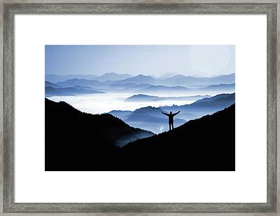 Adoration Of Natural Beauty Framed Print