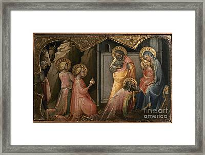 Adoration Of The Kings Framed Print