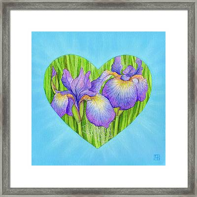 Adree Framed Print by Lisa Kretchman
