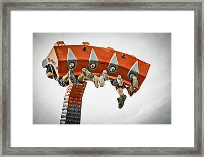 Adrenalin Framed Print