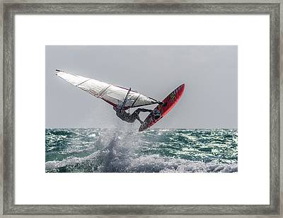 Adrenaline Framed Print by Stelios Kleanthous