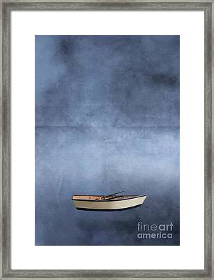Adrift Among The Couds Framed Print by Edward Fielding