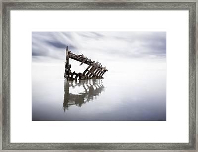 Adrift At Sea Framed Print by Eduard Moldoveanu