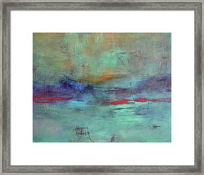 Adrift Framed Print by Filomena Booth