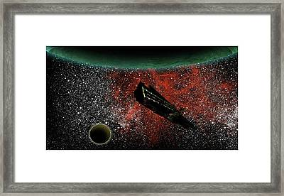 Adrift Framed Print by Jonathan Baldock