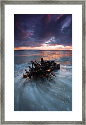 Adrift Framed Print by Mike  Dawson