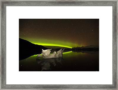 Adrift Framed Print by Ted Raynor