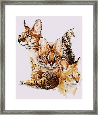 Framed Print featuring the drawing Adroit by Barbara Keith
