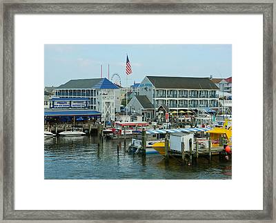 Adult Fun - Ocean City Md Framed Print