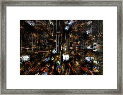 Advancing Technology Framed Print