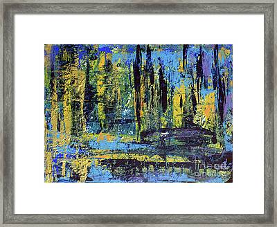 Framed Print featuring the painting Adventure II by Cathy Beharriell