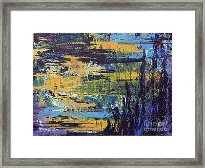 Framed Print featuring the painting Adventure IIi by Cathy Beharriell