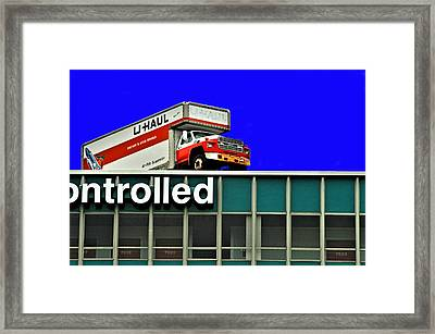 Adventure In Moving Framed Print by William Jones