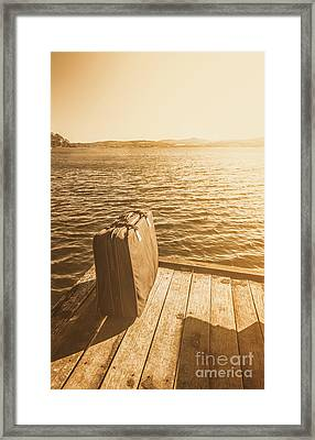Adventures Abroad Framed Print