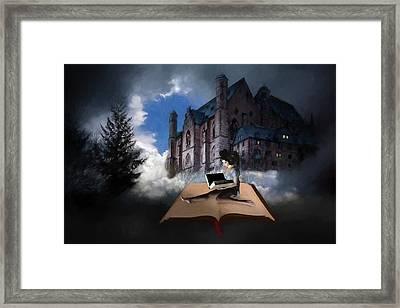 Adventures In Books Framed Print by John Haldane
