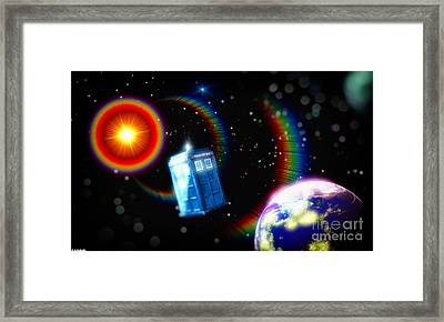 Adventures In Time Space And Imagination Framed Print by Robert Radmore