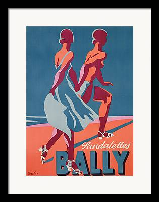 Bally Framed Prints